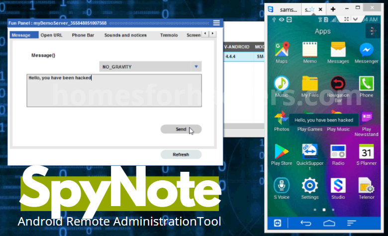 Download SpyNote v6.5 Latest Version - Android RAT - Spy Note Download