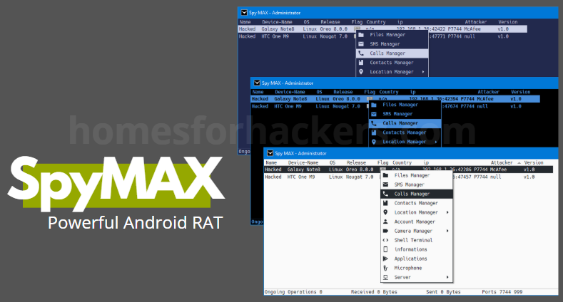 Spymax v2.0 android rat download