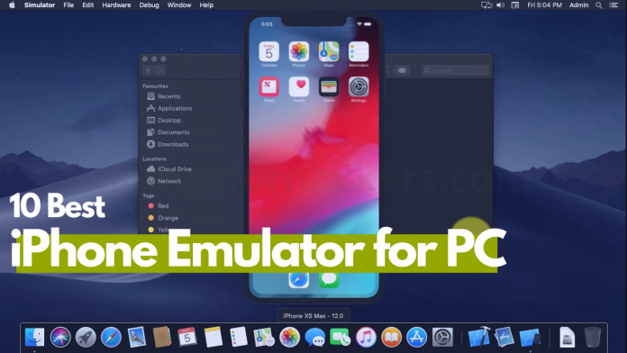 Top 10 Best iPhone Emulator for PC