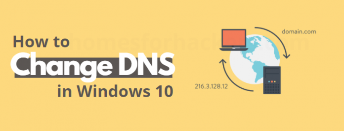 how to change DNS Windows 10 - DNS Port