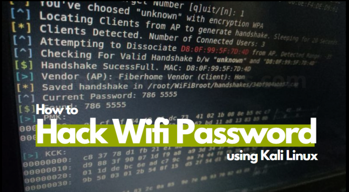 how to hack wifi wpa2 password